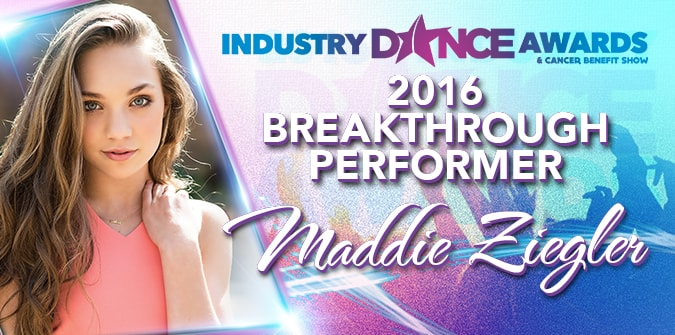 2016 Breakthrough Performer Presented To – MADDIE ZIEGLER