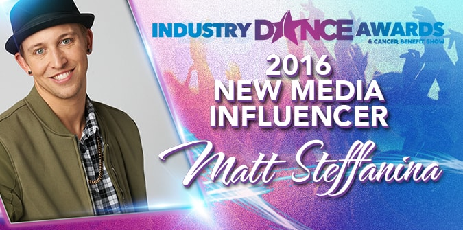 2016 New Media Influencer Presented to – Matt Steffanina