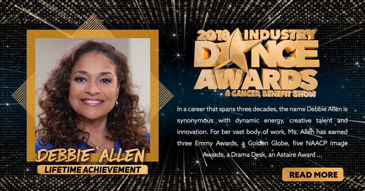 2018 LIFETIME ACHIEVEMENT AWARD PRESENTED TO – DEBBIE ALLEN