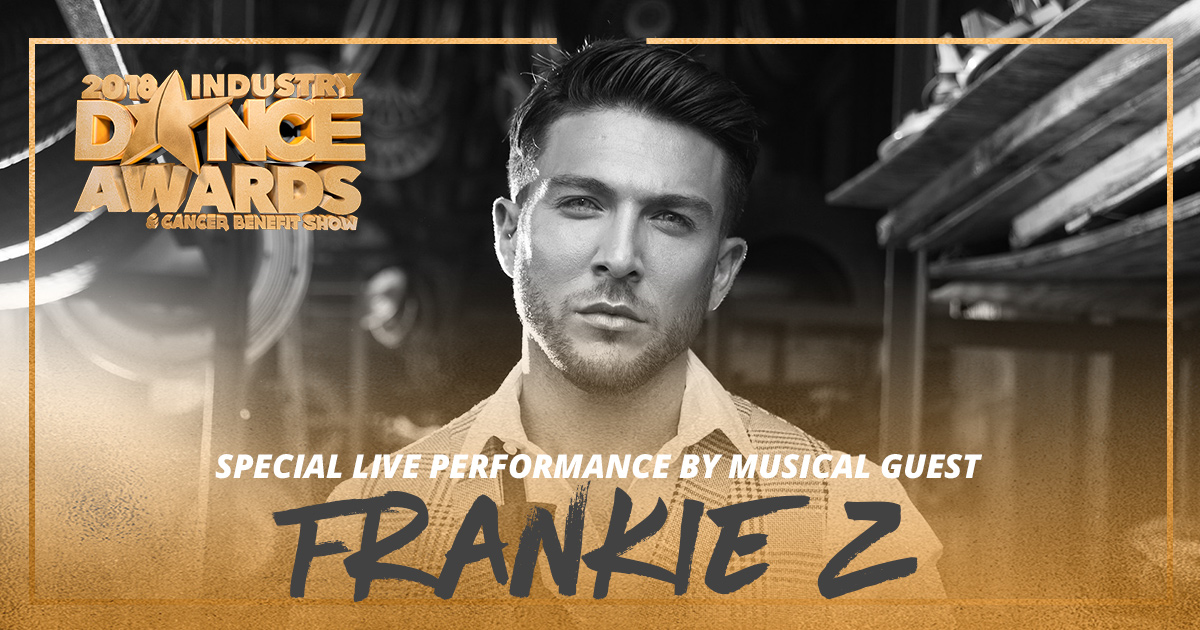 Frankie Z Performing LIVE at 2018 Industry Dance Awards